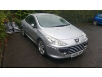 Peugeot 307 cc 6 months mot swap for bigger car