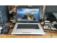 Toshiba satellite pro l45od windows 7 120g hard drive 3g memory webcam wifi dvd drive