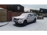 2010 FORD RANGER DOUBLE CAB 4X4 PICKUP 12 MONTHS MOT