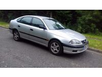 Toyota Avensis 1.8 petrol Warranted mileage with service history long mot Excellent drives hpi clear