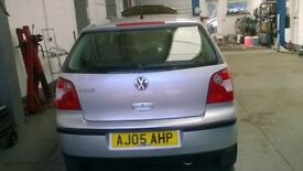 VW Polo 2005 for sale with low mileage and 12 months MOT
