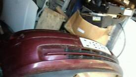 Vauxhall astra front bumper 2003