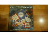 Cross stitch book of cards