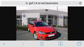 VW Golf 1.4 TSI low tax and cheap fuel