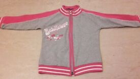 NEW Girls Sporty Jumper Cardigan 3-4 years