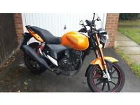 Keeway Rkv 125cc learner motorcycle