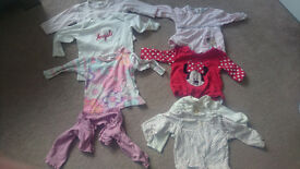 girl t shirt and jumper 6-9 months