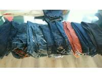 12 pairs boys jeans mainly next