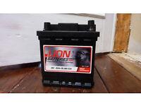 Lion Car Battery Brand New
