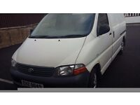 Toyota Hiace van for sale. In excellent condition. Psv to dec 16. Contact john on 07767795311