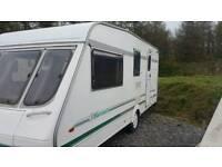 Swift classic baronette 4 birth caravan