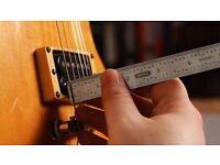 Electric Guitar + Bass Tech - Set up - £15.00 per instrument