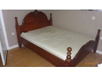 DOUBLE BED WITH MATTRESS TO SELL