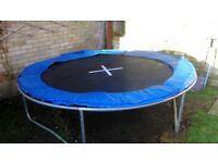 8ft trampoline no net