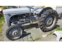 Grey Fergie T20 petrol and TVO tractor working PTO, all new electrics. New draw bar etc.
