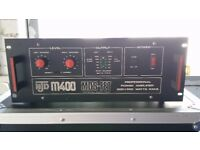 NJD M400 - 2 channel, 400W RMS, MOSFET power Amplifier.