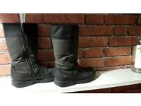 Girl's Clarks boots. UK 12 1/2 F