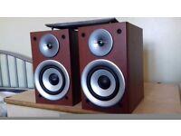 SMALL JVC hi-fi SPEAKERS