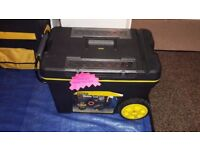 Stanley Work box and storage on wheels- as new