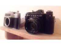 Zenit cameras 1 heliis lens
