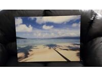 Canvas picture of Beach