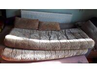 Curtains. 12v Fridge. Caravan Campervan Boat cushions seating beds. Blackout