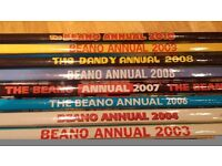 Beano & Dandy annuals