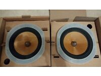 A pair of B&W 7 inch bass drivers for 602 S3 speakers
