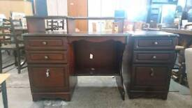 wooden home office workstation - Delivery Available