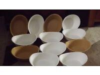 Plastic Bar Meal Baskets