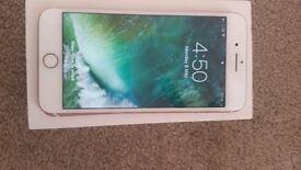 Iphone 7 plus 32gb with original box etc