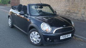 image for 2010 MINI CONVERTIBLE 1 YEAR MOT FULL SERVICE HISTORY 2 OWNERS £1750!!!!