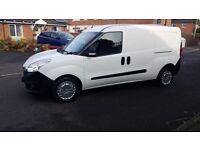 No Vat.Long Wheel Base.Twin Side Doors.Diesel Van.2013 Vauxhall Combo L2 H1 1598cc.caddy.berlingo