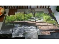 Forest canvas. Excellent condition