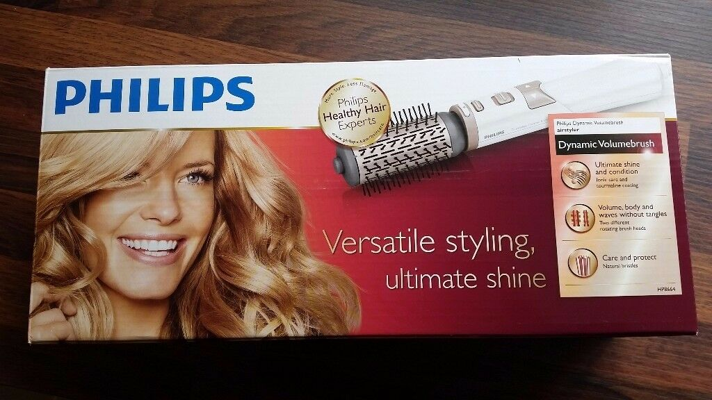 Philips HP8664 StyleCare ROTATING Airstyler Ionic Ceramic Hair Care Curling