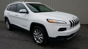 2017 Jeep Cherokee Limited +Cuir, Hitch+