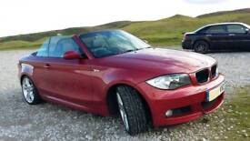 BMW M SPORT 118 CONVERTIBLE 64000 miles