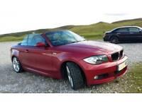 BMW M SPORT 118 CONVERTIBLE 64000 miles