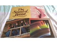 RECORDS VINYL L.P'S: 4 FOR £5.00:AMERICA/BREAD/CHRISTOPHER CROSS/SUTHERLAND BROS & QUIVER SOFT ROCK