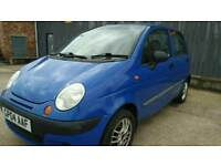 Daewoo Matiz Xtra 1.0 manual 5 door