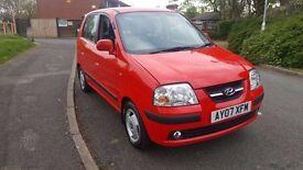 Hyundai Amica 1.1 petrol 5 door hatchback 2007 *12 months Mot*