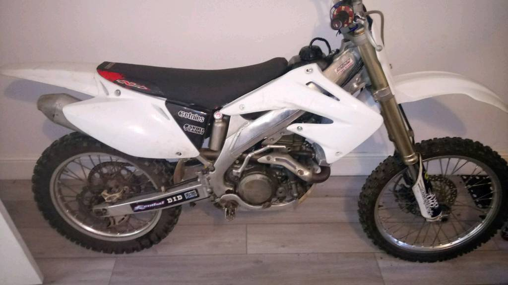 Crf 450 2008. Swap for camervan are caravan and car, jeep, van to tow it with