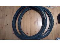 Mountain bike tyres 2.4 x2 26 inch