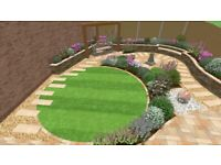 Gardening tree work landscaping paving fencing fence repair maintenanc