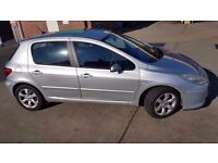 2006 PEUGEOT 307 S PETROL WITH LOW MILEAGE