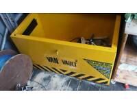 "Van vault in great condition H 20"" W 36"" D 20"" WITH LOCK & KEY"