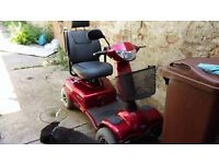4 wheel 8mph mobility scooter for sale(maroon)