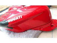 Ducati Fuel Tank with race style screw fuel cap - Great Price