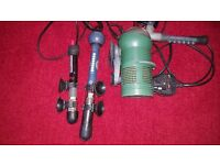 For Sale Fish Tank Aquarium Filter and 2 Heaters