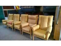 Fireside armchairs £10 each